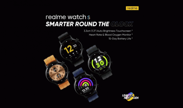 Realme Watch S Price, Release Date and Features