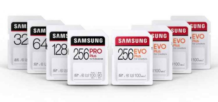 Samsung SD PRO Plus and EVO Plus Card Price and Details