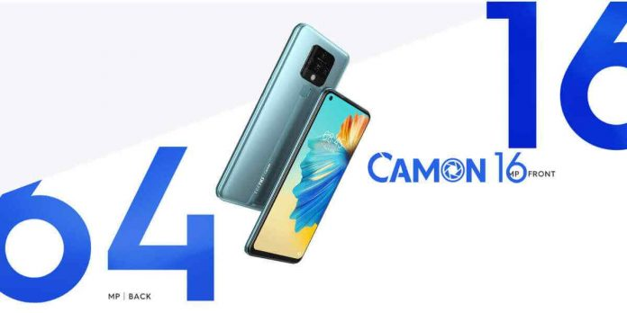 TECNO CAMON 16 Price Release Date and Specifications