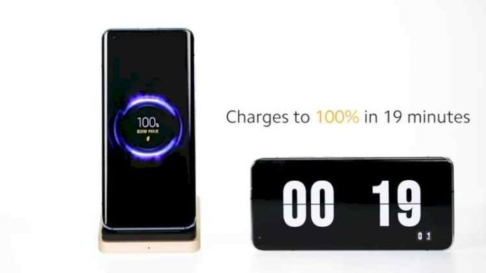 Xiaomi 80W Wireless Charging Technology Charge to 100% in 19 Minutes