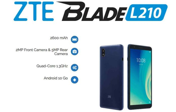 ZTE Blade L210 Price, Specifications and Release Date