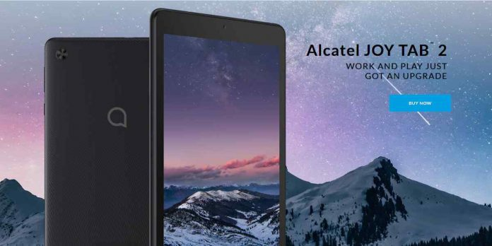 Alcatel JOY TAB 2 Price, Release Date, and Specifications