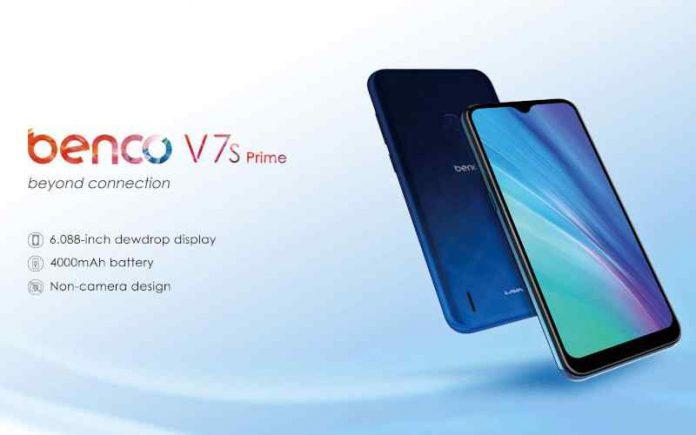 Benco V7s prime Price, Release Date, and Specifications