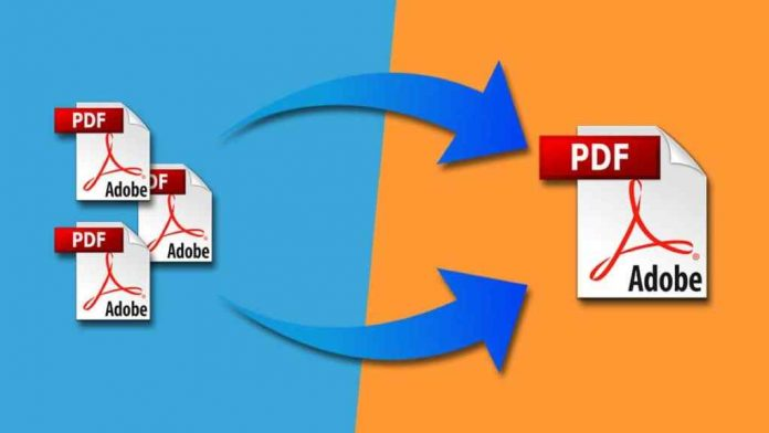 How to merge multiple PDF files without software