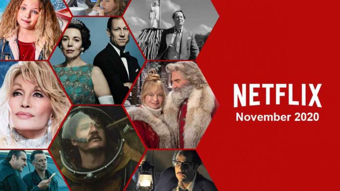 Netflix Movies and Series to Watch in November 2020