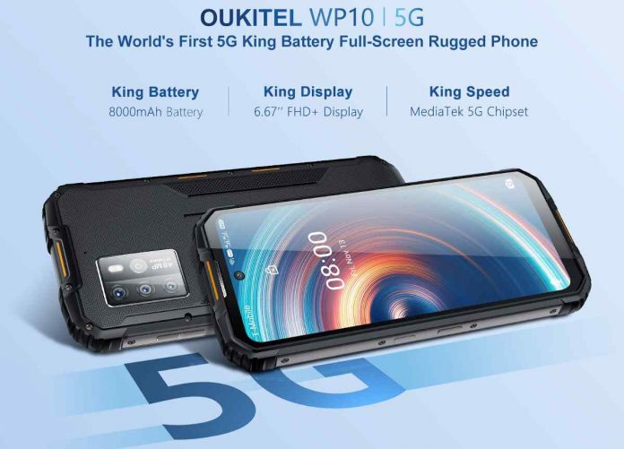 OUKITEL WP10 5G Price, Release Date, and Specifications