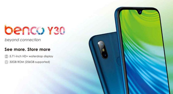 Benco Y30 Price, Release Date, and Specifications