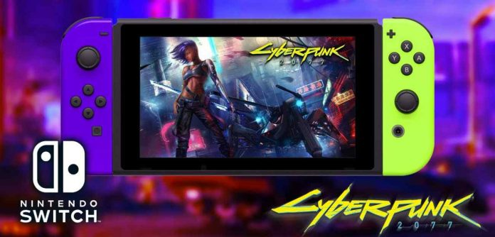 Cyberpunk 2077 Launched on the Nintendo Switch