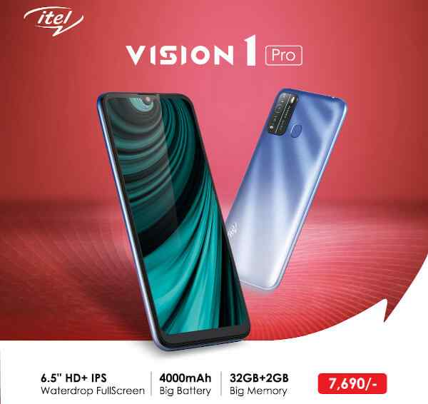 Itel Vision 1 Pro Price, Release Date, and Specifications