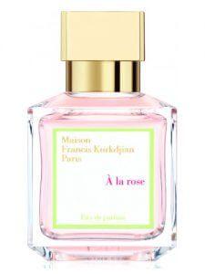 A La Rose de Maison Francis Kurkdjian