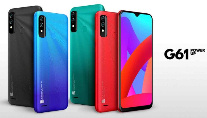 BLU G61 Price, Release Date, and Specifications