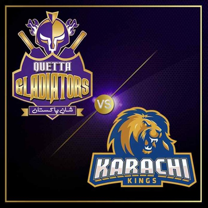 Karachi Kings vs Quetta Gladiators PSL 2021 Match 1