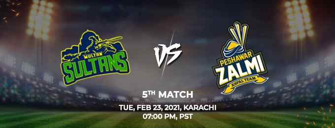 Peshawar Zalmi vs Multan Sultan PSL 2021 Match 5 Highlights