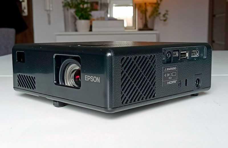 Epson EpiqVision EF-11 Audio and sound quality