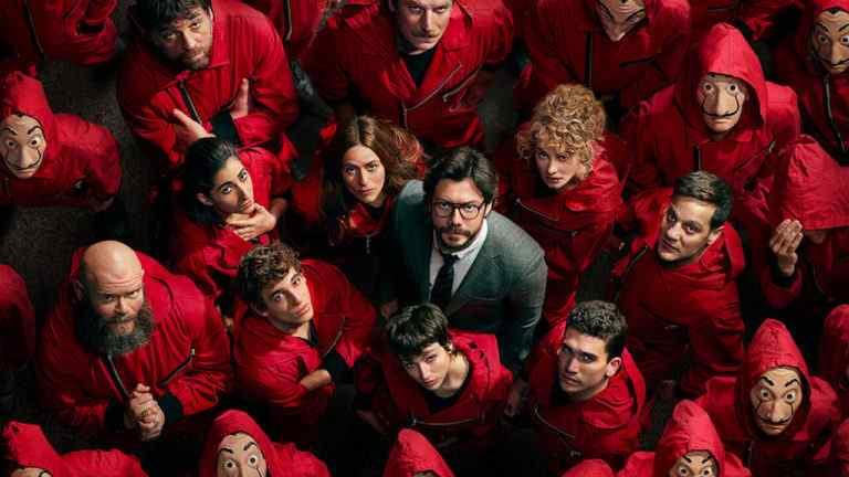 Money Heist Season 5 - Laca De Papel Cast
