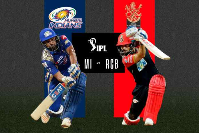 Royal Challengers Bangalore vs Mumbai Indians Match 1 IPL 2021 RCB vs MI