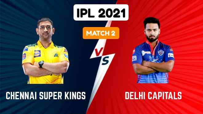 Watch CSK vs DC IPL 2021 Match 2 Live Streaming and Highlights