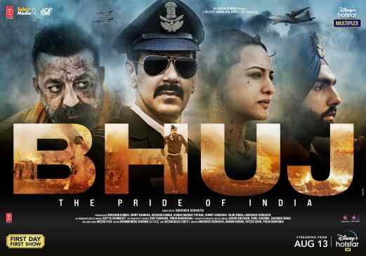 Bhuj The Pride of India Full Movie Download 480p, 720p, HD Rip, Torrent