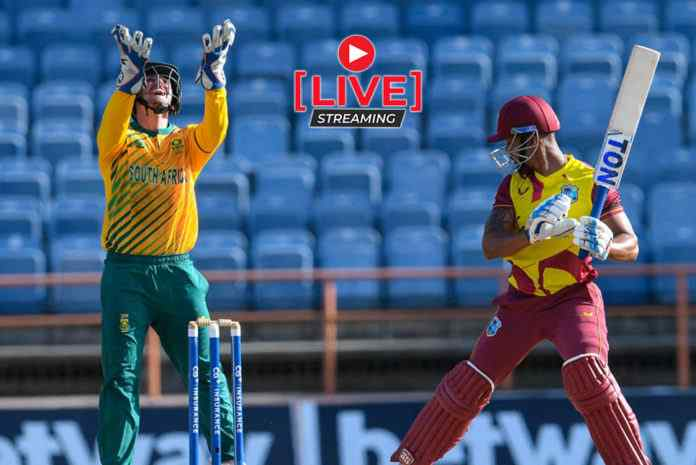 South Africa vs West Indies 4th T20 Live Streaming, SA vs WI 2021