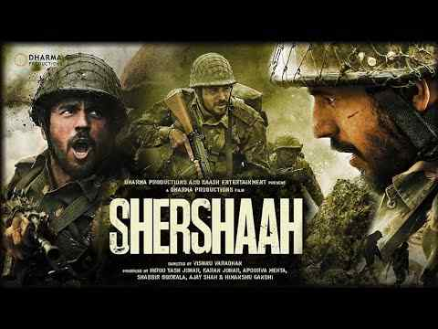 Watch and Download Shershaah Full 2021 Movie Online in 480p, 720p, HD Rip, 1080p, Torrent