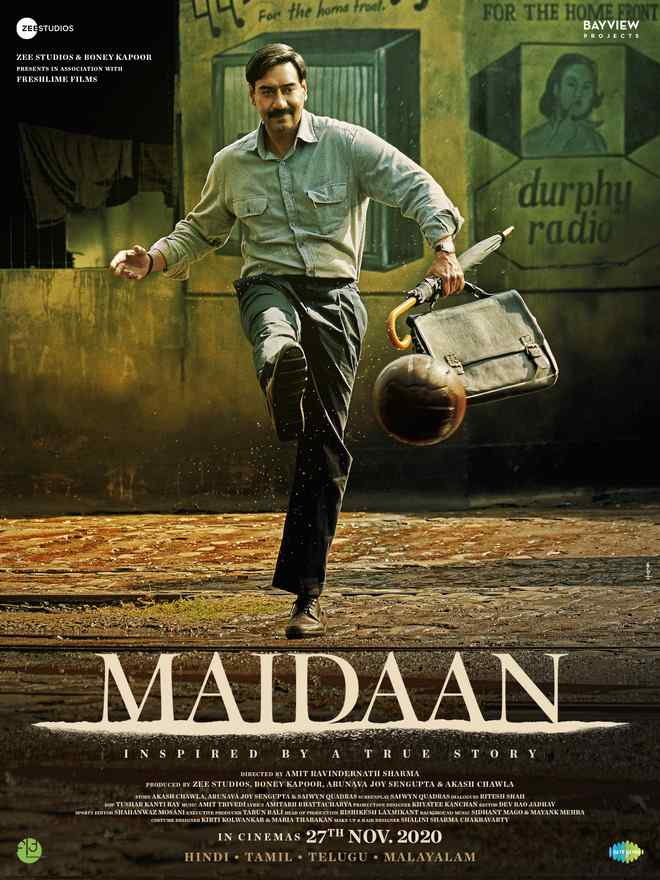Watch and Download Maidaan 2021 Full Movie Online – 480p, 720p