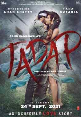 Watch and Download Tadap 2021 Full Movie Online – 480p, 720p,