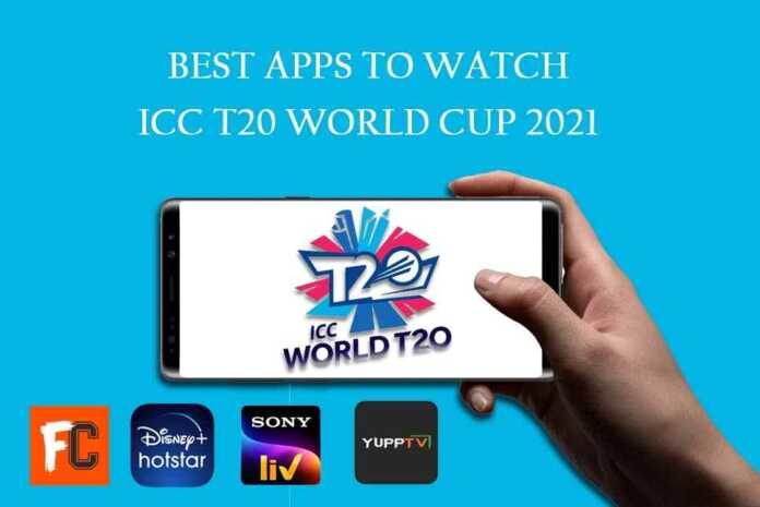 Apps to Watch T20 World Cup