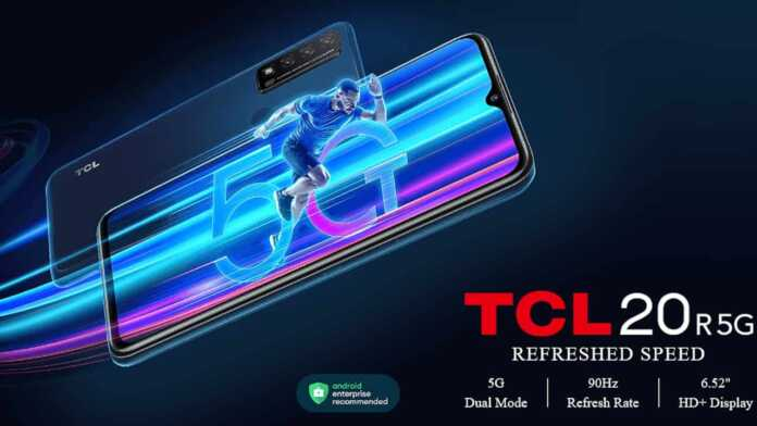 TCL 20 R 5G Price in India, Release Date, and Specifications
