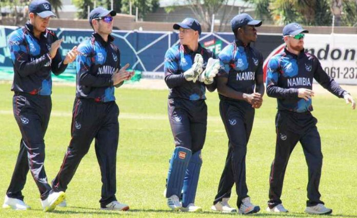 Namibia Team Jersey for T20 World Cup 2021