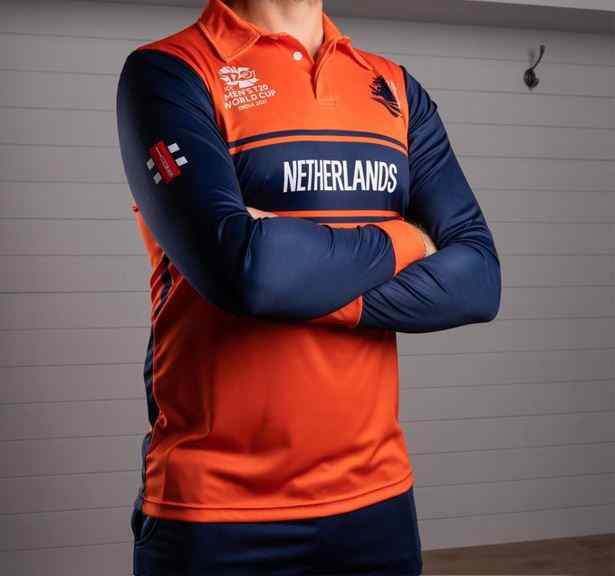 Netherlands Team Jersey for T20 World Cup 2021