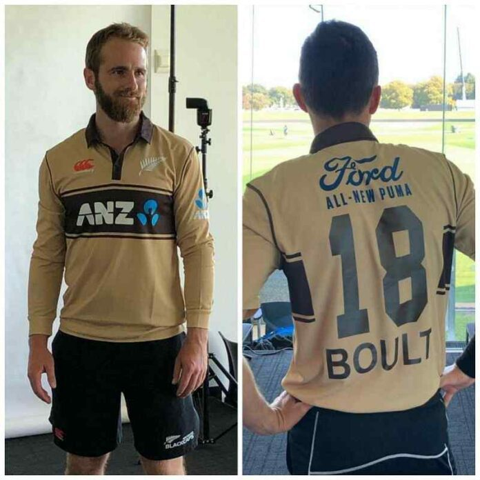 New Zealand Team Jersey for T20 World Cup 2021