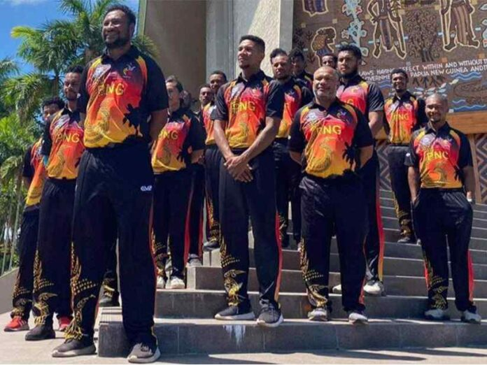 Papua New Guinea Team Jersey for T20 World Cup 2021