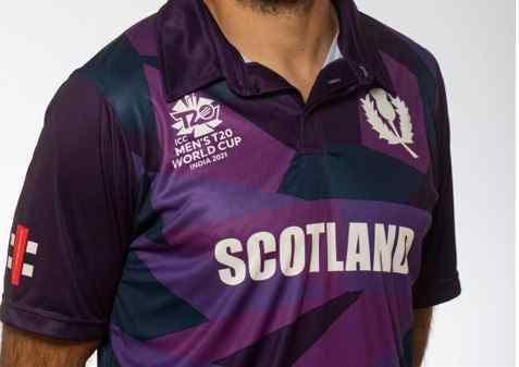 Scotland Team Jersey for T20 World Cup 2021