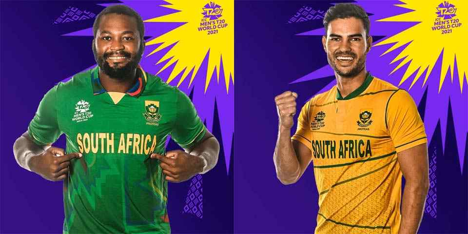 South Africa T20 World Cup 2021 Team Jersey