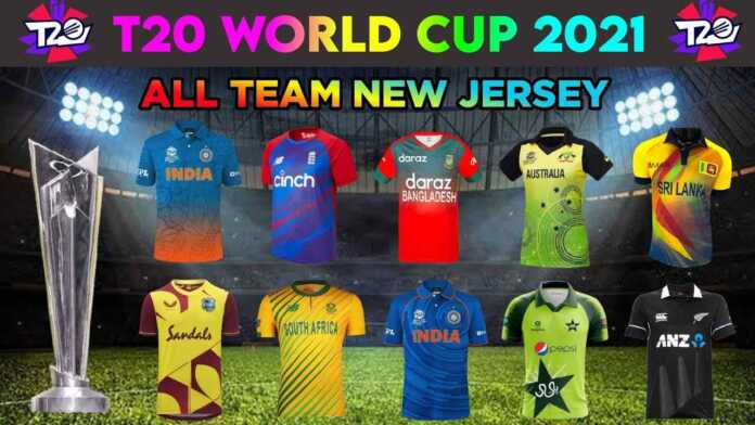T20 World Cup 2021 All Teams Jersey and Kits List
