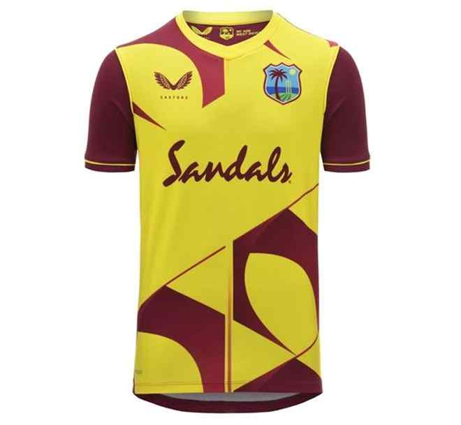 West Indies Team Jersey for T20 World Cup 2021